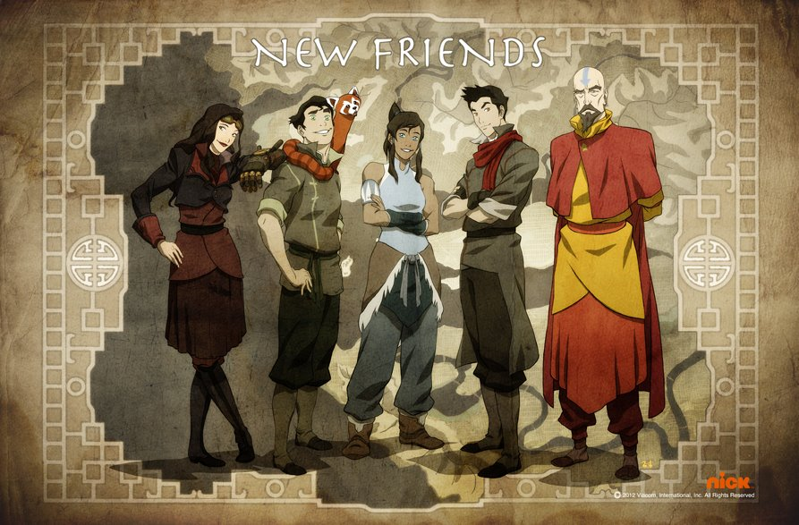 Avatar The Last Airbender Characters As Adults It s the sound of The Legend