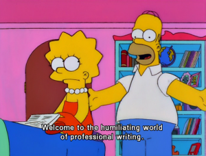 Homer Simpson on Publishing
