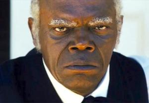 "Played by Samuel L. ""Motherf*cking"" Jackson"
