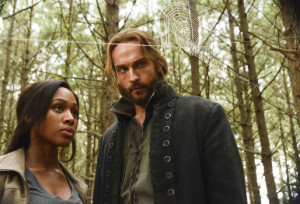 Featuring Nicole Beharie (Abbie Mills), Tom Mison (Ichabod Crane), and their usual lack of personal space.